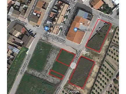 Suelo residencial en fase de urbanización en La Granja de la Costera